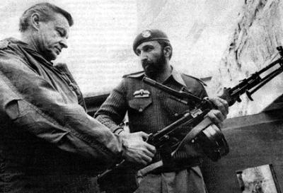 Zbignew Brzezinski and Osama bin Laden