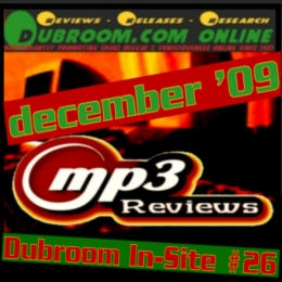 DUBROOM ONLINE MP3 REVIEWS FOR DECEMBER 2009