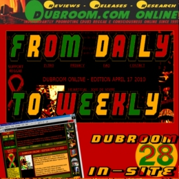 DUBROOM ONLINE: FROM DAILY TO WEEKLY